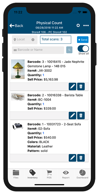 Aralco Mobile POS Systems | Mobile Inventory Management